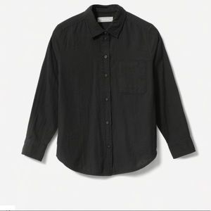 Everlane - Shrunken Cotton Shirt - Black